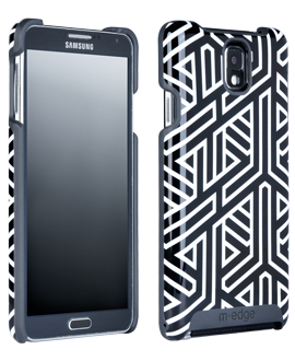 Samsung Galaxy Note 3 M-Edge Echo Shell - Geo-Woven