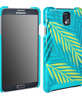 Samsung Galaxy Note 3 M-Edge Echo Shell - Palm Leaves