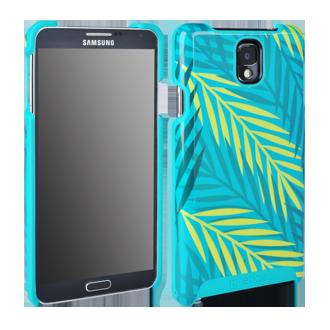 Samsung Galaxy Note 3 M-Edge Echo Shell - Palm Leaves