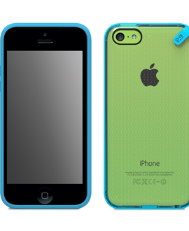 iPhone 5c PureGear Slim Shell - Blue