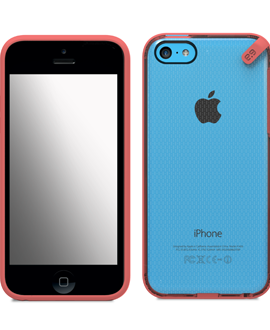 iPhone 5c PureGear Slim Shell - Pink