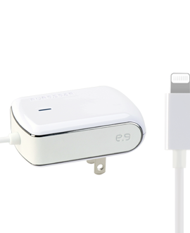 PureGear Lightning Tip Wall Charger - White