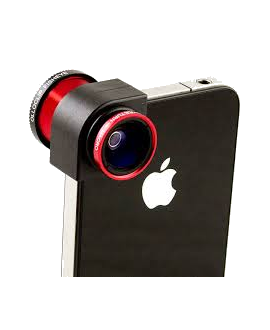 olloclip Camera Lens - Red & Black