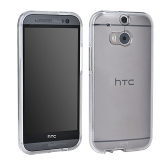 HTC One (M8) Case Mate Naked Tough Case - Clear
