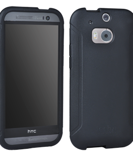 HTC One M8 Tech 21 Impact Tactical Shell - Black