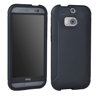 HTC One M8 Tech 21 Impact Tactical Shell - Black