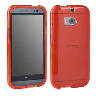 HTC One M8 Tech 21 Impact Shell - Red