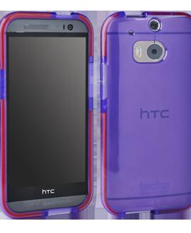 HTC One M8 Tech 21 Impact Shell - Purple