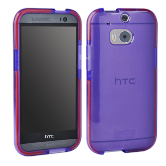 HTC One M8 Tech 21 Impact Shell - Purple