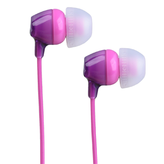 SONY MDR-X15 Wired Earbud - Violet