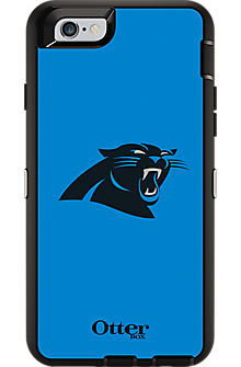 NFL Defender Series by OtterBox for iPhone 6/6s - Carolina Panthers