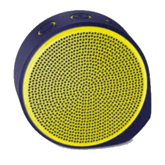 Logitech X100 Wireless Speaker - Yellow