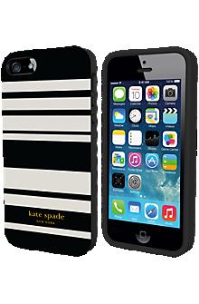 Flexible Hardshell Case for iPhone 5/5s - Fairmont Stripe