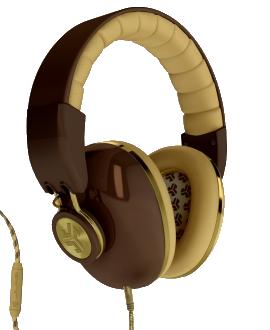 JLab Bombora Headphones - Brown and Gold