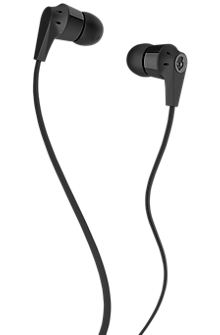 Skullcandy Ink'd 2.0 Earphones with Mic - Black/Black
