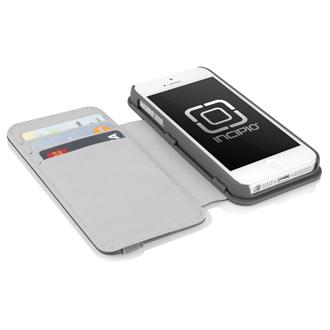 Apple iPhone 5/5s Incipio Wallet Case - Grey