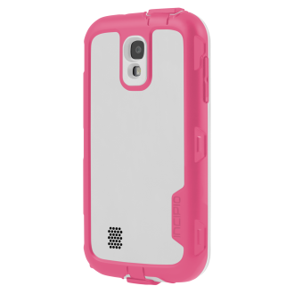 Samsung GS4 Incipio ATLAS Case - White & Pink