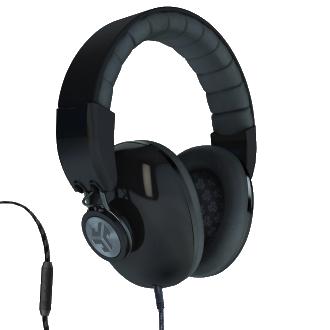 JLab Bombora Headphones - Black & Gunmetal