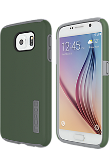 DualPro for Samsung Galaxy S 6 - Green/Gray