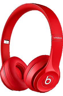 Beats Solo 2 Wireless Headphone - Red