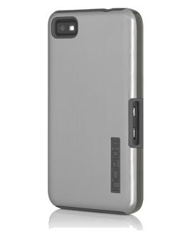 BlackBerry Z10 Incipio Ovrmld Case - Silver & Charcoal