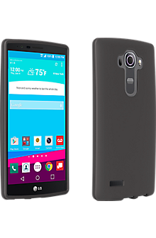 Silicone Cover for LG G4 - Matte Black