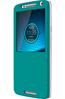 Flip Shell Case for DROID Maxx 2 - Turquoise