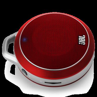 JBL Micro Wireless Portable Speaker - Red