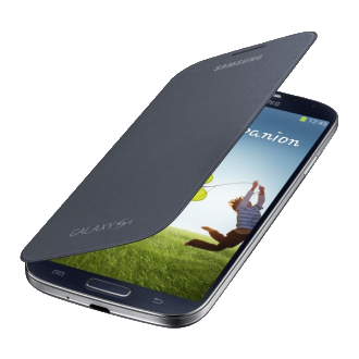 Galaxy S 4 Flip Cover - Black