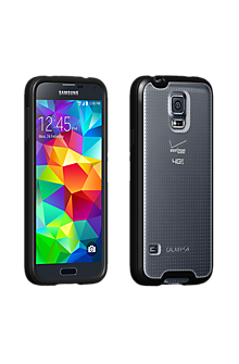 Clear Shell with Black Edge for Galaxy S 5