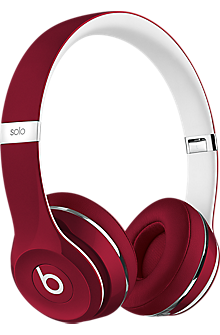 Beats Solo2 On-Ear Headphones - Luxe Edition Red