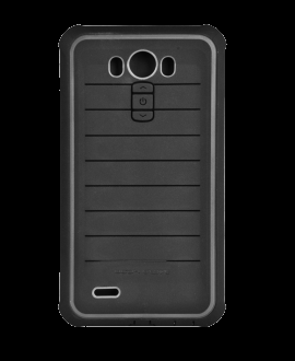 LG G3 Body Glove Shocksuit Rugged Case - Black & Charcoal