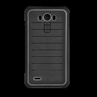 LG G3 Body Glove Shocksuit Rugged Case - Black & Charcoal
