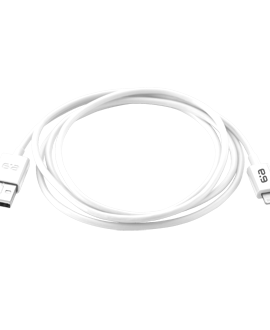 4-Foot Lightning Tip Charging Cable  White