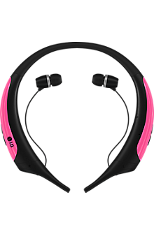 LG Tone Active Bluetooth Stereo Headset - Pink