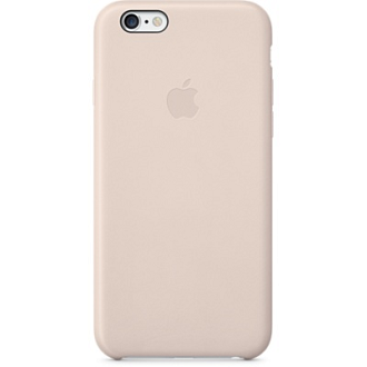iPhone 6 Leather Case - Soft Pink
