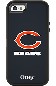 NFL Defender by OtterBox for Apple iPhone 5/5s - Chicago Bears
