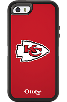 NFL Defender by OtterBox for Apple iPhone 5/5s - Kansas City Chiefs