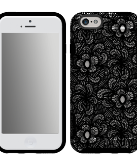 iPhone 6 M-Edge Glimpse Case - Black Lace