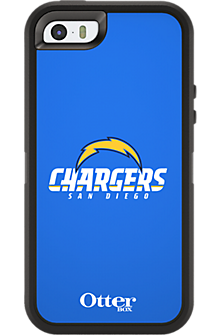 NFL Defender by OtterBox for Apple iPhone 5/5s - San Diego Chargers