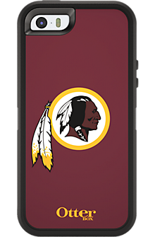 NFL Defender by OtterBox for Apple iPhone 5/5s - Washington Redskins