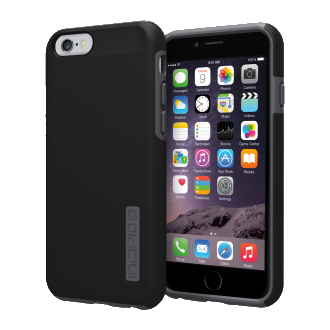 iPhone 6 Incipio DUALPRO Case - Black and Charcoal