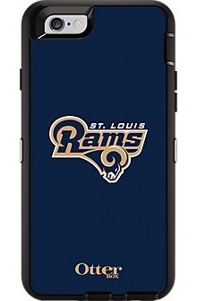 NFL Defender by OtterBox for iPhone 6 - St Louis Rams