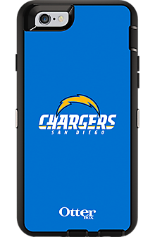 NFL Defender by OtterBox for iPhone 6 - San Diego Chargers