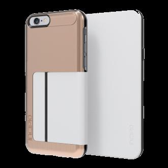 iPhone 6 Incipio Highland Folio - White & Rose Gold