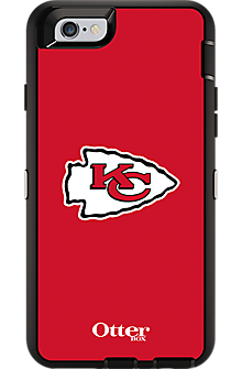 NFL Defender by OtterBox for iPhone 6 - Kansas City Chiefs