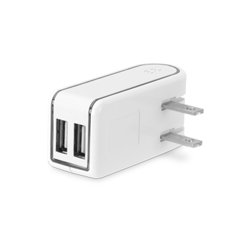 PureGear 12W Wall Charger - White