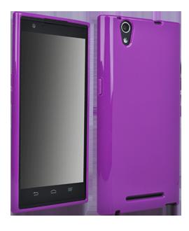 ZTE ZMAX Flex Protective Cover - Purple