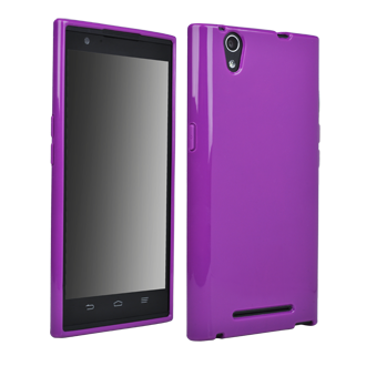 ZTE ZMAX Flex Protective Cover - Purple