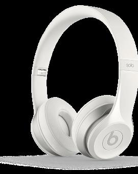 Beats Solo 2 Headphones - White